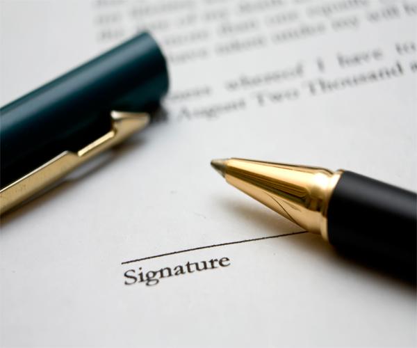 Rescisão de contrato - Estados Unidos e Brasil